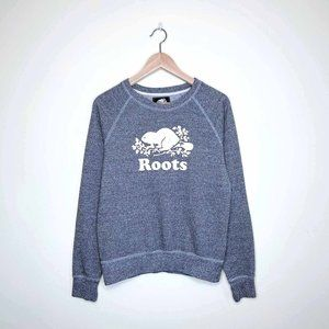 Roots Original salt & pepper crewneck sweatshirt
